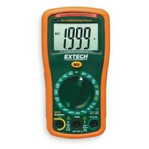 Extech Ex310 nist Mini Digital Multimeter 600v 2000 Kohms