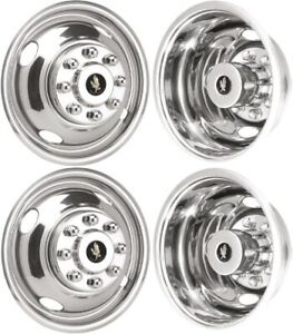 Jsd1608 Chevrolet Silverado 3500 Drw 16 Inch Wheel Covers Hubcaps Simulators