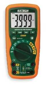 Extech Ex505 nist Industrial Digital Multimeter 40 Mohms