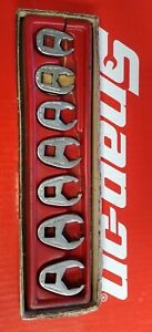 Snap On Tool 3 8 Drive 7 Pc Sae Crowfoot Flare Nut Wrench Set 207sfrh 3 8 3 4