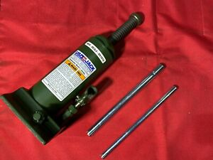 Us Jack D 51013 8 Ton Hydraulic Bottle Jack Military Version Made In Usa