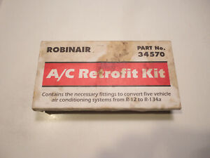 Robinair R 12 To R 134a Retrofit Parts Kit Conversion Adapter Valve Fittings