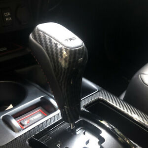 Carbon Fiber Gear Shift Knob Shifter Replacement For Toyota Tundra 2007 2021