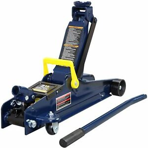 5000lb Low Profile Trolley Service floor Jack With Single Pistonquick Lift Pump