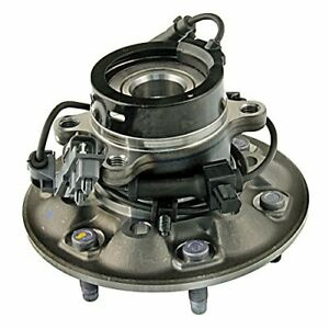 Ac Delco 515110 Acdelco Advantage Front Driver Side Wheel Hub And Bearing As