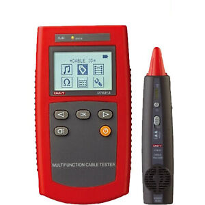 Uni t Ut681a Circuit Breaker Finders Lan Network Cable Tester Wire Locator kd