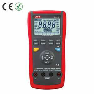 Uni t Ut611 Lcr Meters Inductance Capacitance Resistance Frequency Tester Kd