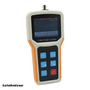 Handheld S 600am Tdr Cable Fault Locator 2km Fast Tester Speed Accurate Test
