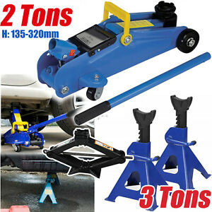 2 3 Ton Low Profile Floor Jack Stand Car Truck Lift Shop Hydraulic Trolley