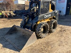 2011 John Deere 320d Skid Steer Loader Inspection operation Video Included