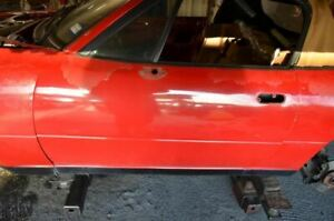 1990 1997 Mazda Mx 5 Miata Na Driver Left Front Door Red