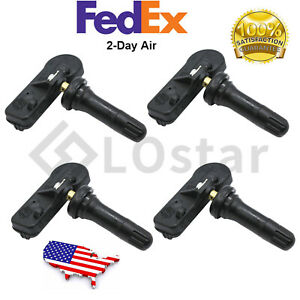 Set Of 4 Tpms Tire Pressure Monitoring Sensor For 2008 2019 Chevy Gmc Buick
