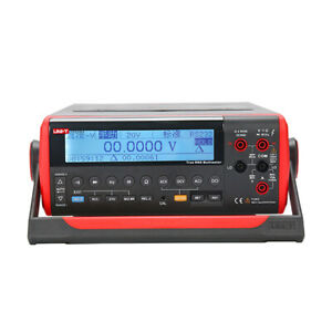 Uni t Ut805a Counts High accuracy Lcd Bench Top Digital Multimeter kd
