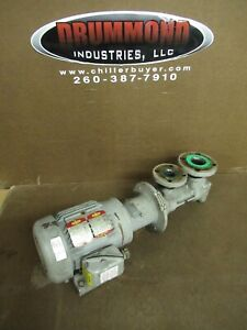 Imo 1 5 Hp Positive Displacement Fuel Oil Pump Hydraulic C3ebc 143j 230 460v
