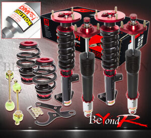 92 98 Bmw E36 3 series Adjustable Lowering Coil Over Springs Shock Struts Unit