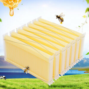 7x Beekeeping Automatic Bee Hive Bee House Honey Take Out Frames Extractor Frame