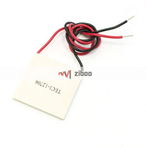 Tec1 12706 6a 50w 60c Thermoelectric Cooler Module Plate Power Generator 28 5kd