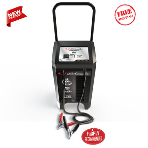 Automatic Wheeled Battery Charger Trickle Car Engine Starter 6 2 40 200 Amp