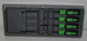New Snap On Seal Removal Set Sgsr104ag Green Soft Handles Brand New Sealed