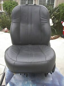 02 Jeep Grand Cherokee Factory Leather Drivers Seat