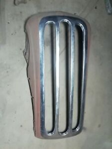 48 Anglia 3 Hole Grill Conversion Panel Hot Rat Rod Gasser Thames English Ford