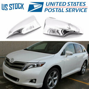 For Toyota Venza 2013 2017 chrome Plated Mirror Cover Trims W turn Signal Cutout