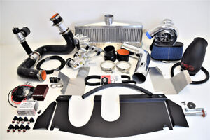 A A Corvette C6 Supercharger Vortech V3 Si Intercooled Complete Kit Polished New