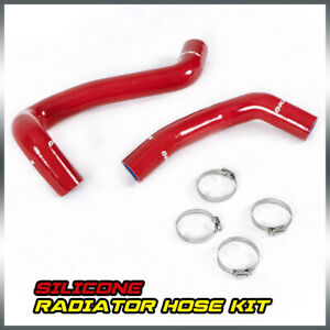 Red Silicone Coolant Radiator Hose Clamps Kit For Toyota 07 17 Tundra 5 7l V8