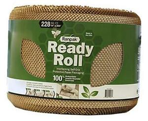 200 X 14 Ready Roll Protective Paper Cushioning Wrap bubble Wrap