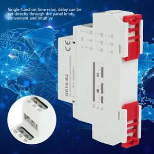 Relay Mini Power Off Delay Time Relay Grt8 b1 Din Rail Type Ac dc For Smart Ho