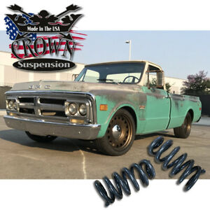 1963 1987 Chevrolet Gmc Chevy K5 C10 C 10 3 Front Lowering Drop Coil Springs