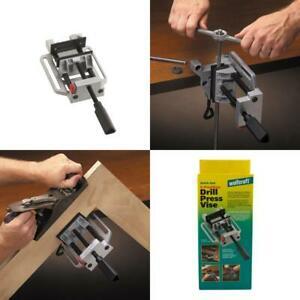 Heavy duty 4 position Quick release Drill Press And Workbench Vise With Table At
