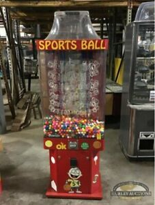 Ok Sports Ball gumball Falls Kinetic Vending Machine Parts Or Repair