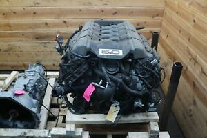 5 0l Coyote V8 Engine Motor Dropout Liftout Assembly Ford Mustang Gt 2015 17