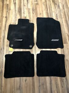 Oem 2012 2017 Camry Floor Mats Carpet black 4pc Set Genuine Toyota Pt208 03120