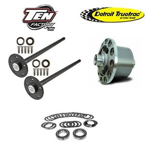 1979 1993 Ford Mustang 31 Spline 5 lug Axle Kit And Truetrac Posi Package Deal