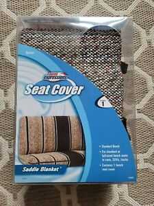 Auto Expressions Saddle Blanket Standard Bench Full Size Bench Truck Seat Cover