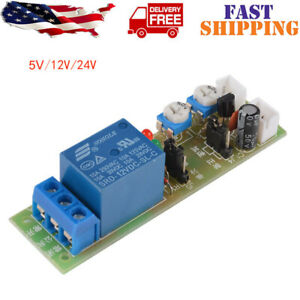 Infinite Loop Module Cycle Timing Timer Time Delay Relay On Off Dc 5v 12v 24v Us
