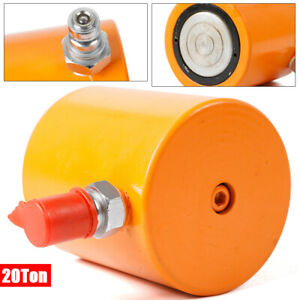 Durable Steel Hydraulic Pneumatic Cylinder Jack Ram Low Height 0 63 Mpa Hot Us