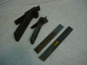 Armstrong 30 r And 71r Lathe Cut off Tool Holder Williams Hs Taper Blade