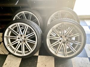 Vossen set Of 4 On 2 245 35zr 20 2 255 35zr 20 Tires