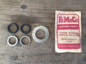 1 Nos Ford T Bird Thunderbird Power Steering Control Valve Seal Kit 1957 1958