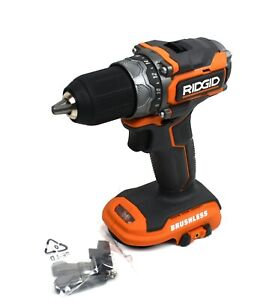 Ridgid 18v Brushless Subcompact Cordless 1 2 In Impact Drill R8701 tool Only