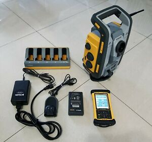 Trimble Rts555 Dr Std 5 Robotic Total Station Nomad With Mep Software