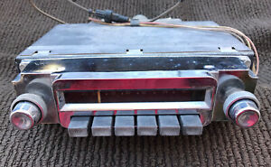Vintage 1957 1958 Mopar Plymouth Radio Original Used Part 841 Dodge Chrysler