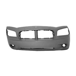 Fits 2006 2010 Dodge Charger Front Bumper Cover 101 00209a