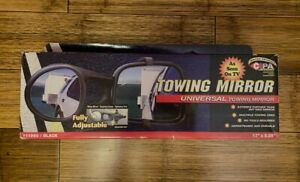 Cipa universal Towing Mirror With Suction Cup Mounting 11960 open Box