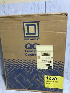 New Square D Indoor Load Center 125a 12 Spaces 24 Circuits