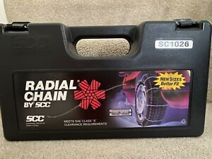 Scc Radial Tire Cable Chains Sc1026 Used