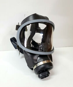 Msa Ultravue Single Port Full Face Gas Mask Air Purifying Respirator Small